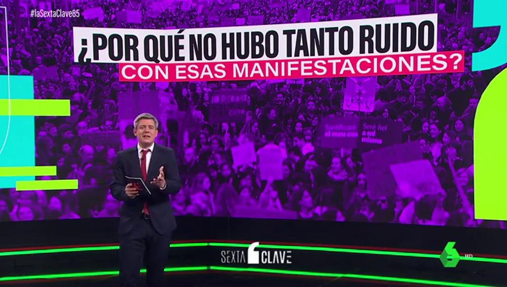 """La reflexión de Rodrigo Blázquez sobre las críticas al 8M: """"¿El problema es la pandemia o es la reivindicación feminista?"""""""