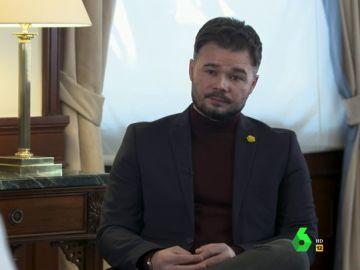 """Rufián, sobre las críticas a los Mossos con motivo de las protestas por Pablo Hasel: """"Hay abusos policiales indiscutibles"""""""