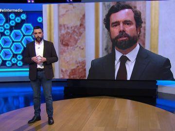 """La tajante respuesta de Dani Mateo al machismo de Espinosa de los Monteros tras negarse a llamar """"vicepresidenta"""" a Calvo"""