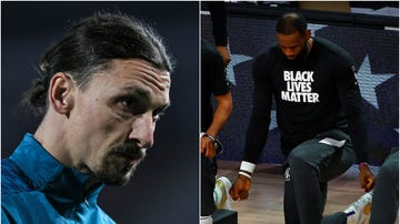 Ibrahimovic y Lebron James