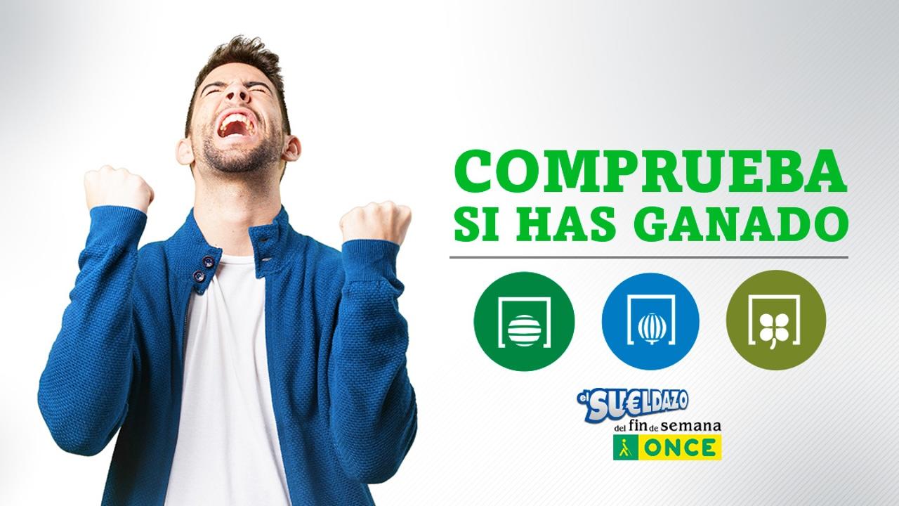 Resultados de los sorteos de Primitiva, Lotería Nacional, Sueldazo de la ONCE, Triplex, Super ONCE y Bonoloto del sábado 27 de febrero de 2021