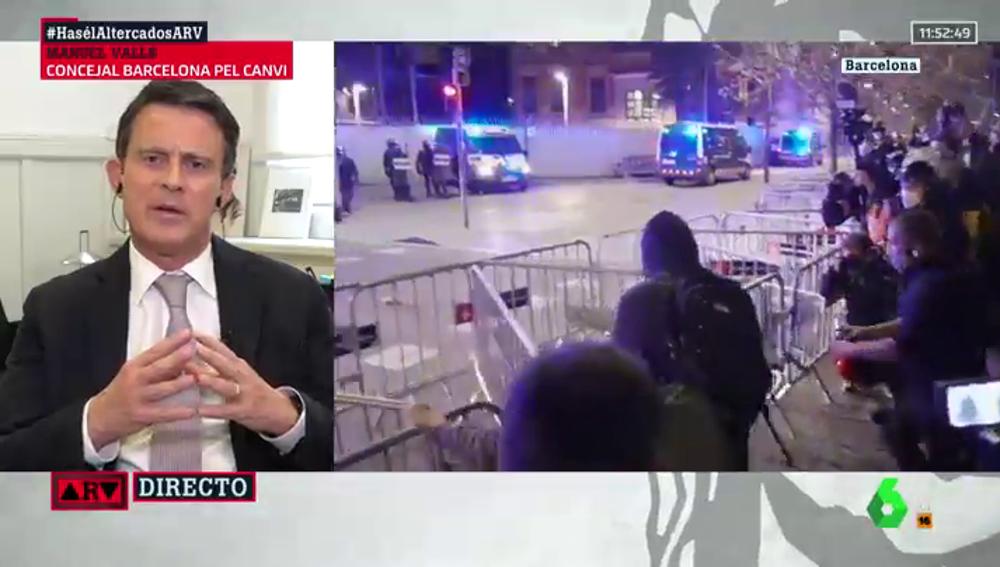 Manuel Valls, en Al Rojo Vivo
