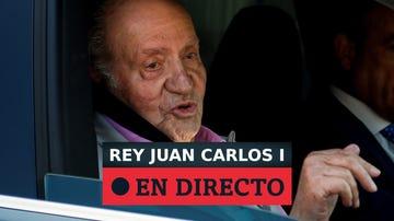 El rey Juan Carlos paga 4 millones a Hacienda para regularizar su situación fiscal en España, en directo