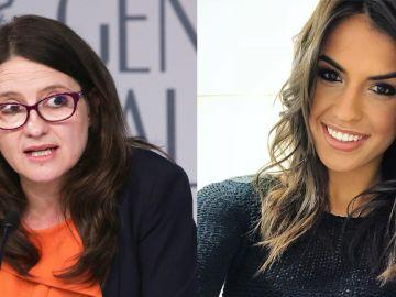 Mónica Oltra y Sofía Suescun