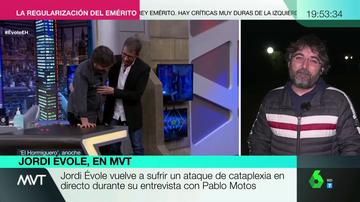 """La reacción de Jordi Évole tras su ataque de cataplexia con Pablo Motos: """"Son unos segundos de incertidumbre"""""""