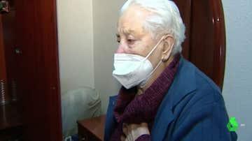 Rosario, desahuciada por error de su casa a los 97 años