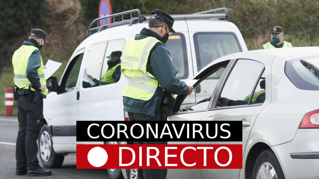 Imagen de un control de la Guardia Civil