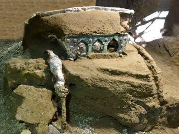 Imagen de la carroza cedida por el Parque Arqueológico de Pompeya