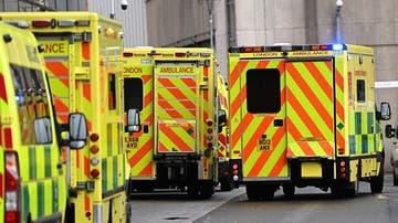 Imagen de archivo de ambulancias en Reino Unido