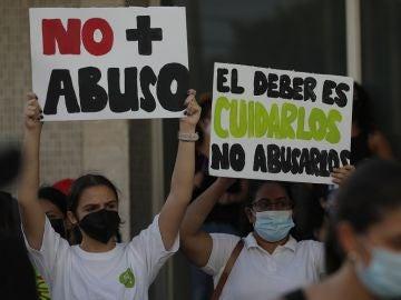 Protestas en Panamá contra los abusos a menores