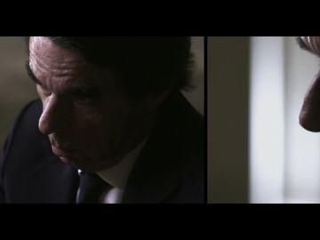 """La """"insinuación"""" de Aznar sobre el 11M que soprende a Évole: """"¿Sigue pensando que detrás estuvo ETA?"""""""