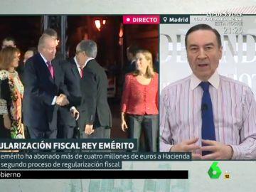 """Pedro J. Ramírez cree que Juan Carlos I """"debería dejar de ser rey emérito"""" si su honor """"no queda a salvo en la investigación"""""""