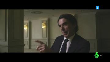 """Aznar lanza un mensaje a sus sucesores en el PP en su entrevista con Évole: """"Entregué un partido y un espacio electoral unido, lo que pasó después..."""""""