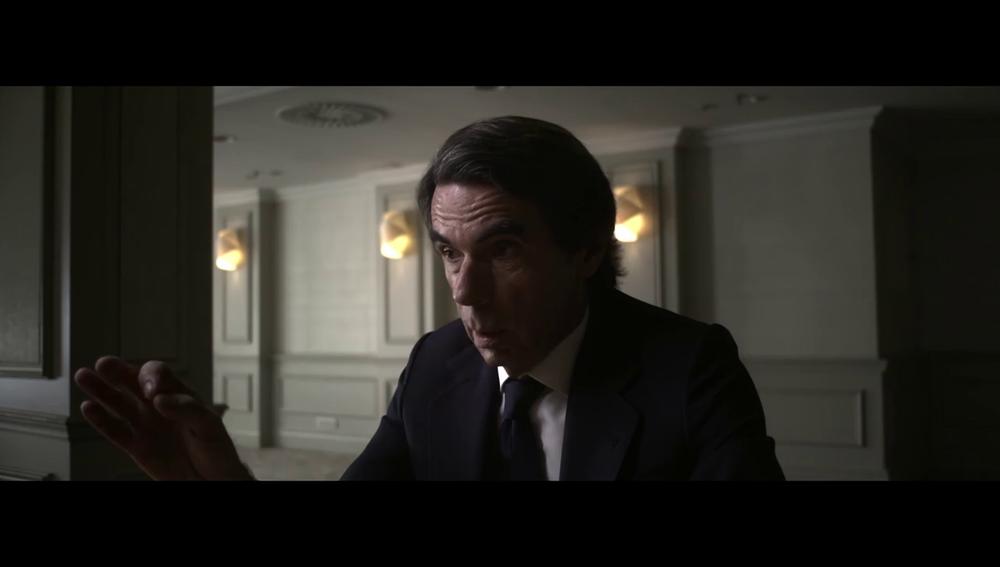 """El rifirrafe entre Aznar y Évole al hablar del 11M: """"A mi Gobierno no se le puede acusar de no decir la verdad"""""""