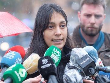 La abogada del rapero Pablo Hasel, Alejandra Matamoros
