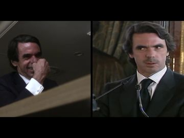 La risa de José María Aznar al explicar sus polémicas palabras sobre conducir bebido