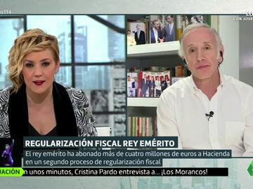"""Juan Carlos I habría recurrido a varios empresarios españoles para pagar a Hacienda: """"Se lo han prestado a un interés 0"""""""