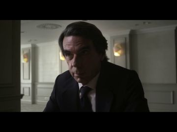 La reacción de José María Aznar cuando Évole le pregunta si es el 'JM' que señala Bárcenas en sus papeles