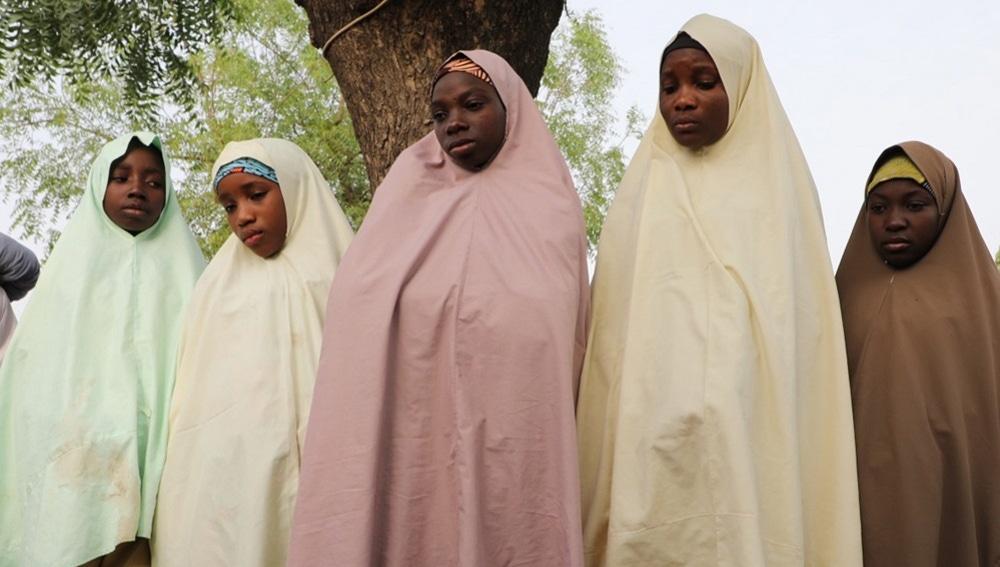 Imagen de niñas en Nigeria