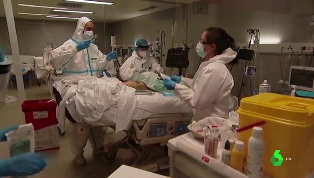 Casi un 3% de los pacientes hospitalizados por COVID sufren daños neurológicos