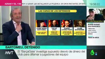 ¿De qué equipo es Josep Pedrerol? Mamen Mendizábal no tiene duda