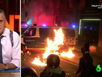 """La reflexión de Wyoming sobre la violencia en Barcelona: """"No es el mejor ambiente para negociar un Gobierno"""""""