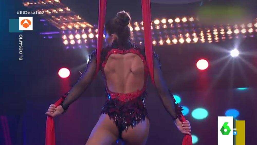 Esta fue la actuación completa de Pedroche en El Desafío con la aparición estelar de Ágatha Ruiz de la Prada