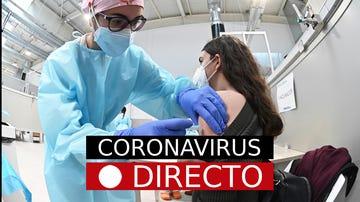 Medidas por COVID-19, hoy | Confinamiento por coronavirus, vacunación en España y Madrid, en directo