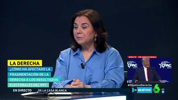 """Lucía Méndez, sobre el PP: """"Podemos darles todos los consejos del mundo, pero están en el peor momento de su historia"""""""