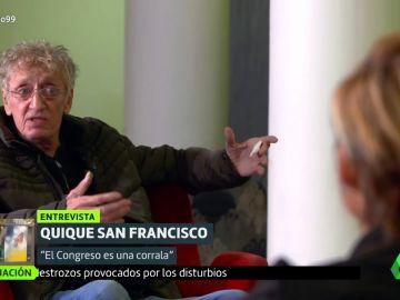 Así fue la última aparición de Quique San Francisco en laSexta