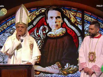 """La reacción de Dani Mateo al escuchar al """"dios Aznar"""" negar saber de la existencia de la caja B del PP: """"Esto clama al cielo"""""""