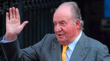 El rey emérito Juan Carlos de España