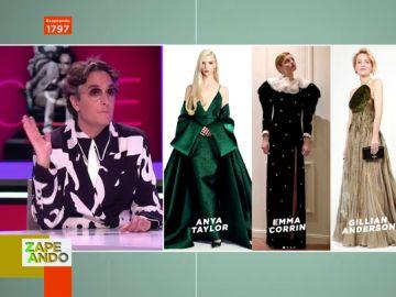 """Esta es la actriz mejor vestida de los Globos de Oro 2021 para Josie: """"Es increíble"""""""