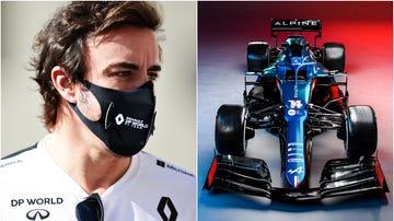 El nuevo Alpine ilusiona a Fernando Alonso