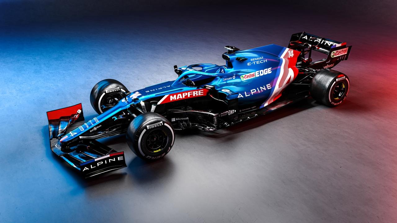 El Alpine A521, el nuevo coche de Fernando Alonso y Ocon