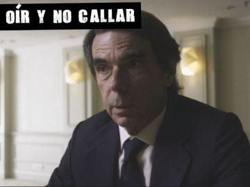 El expresidente Aznar en 'Lo de Évole'