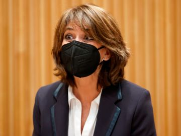 Dolores Delgado, este martes en el Congreso de los Diputados.