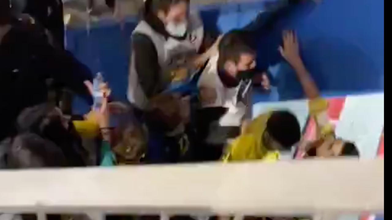 Tensión tras el encuentro entre Ribera Navarra y Jaén Paraíso Interior