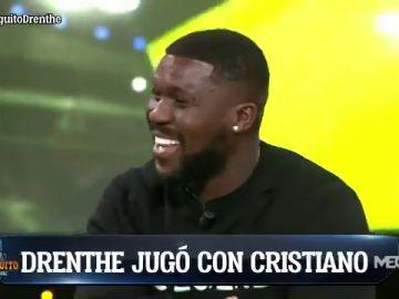 """Drenthe: """" Ramos imitaba las formas de tirar las faltas de Cristiano cuando no estaba"""""""