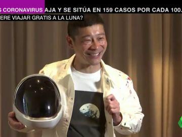 Viajar gratis a Luna con el SpaceX es posible gracias a la oferta de un multimillonario japonés