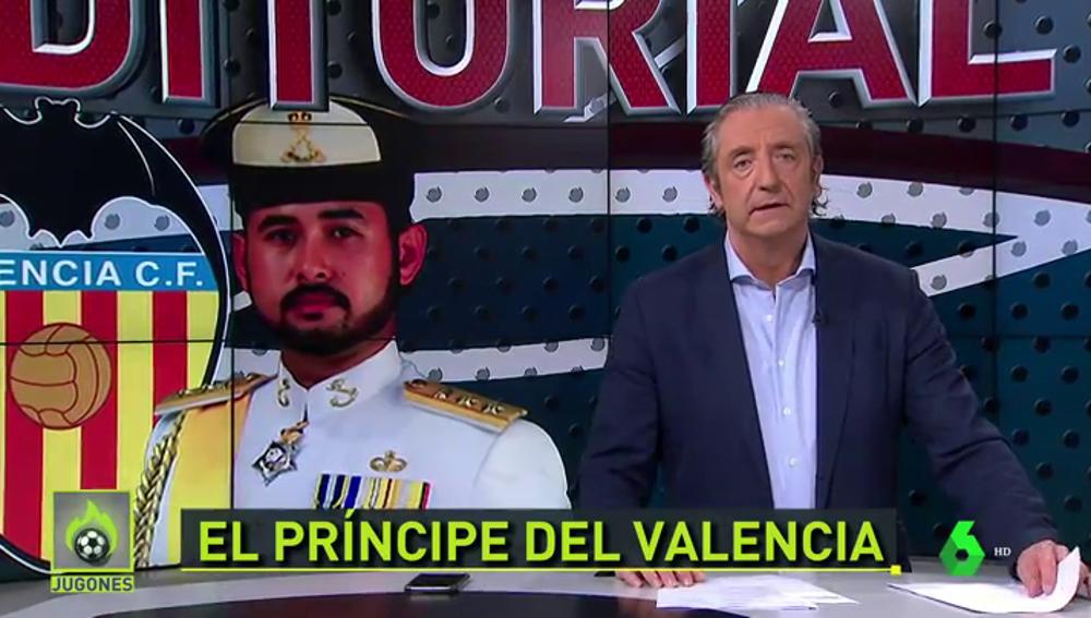"""Pedrerol: """"Peter Lim debe hacer un último servicio al Valencia, vender el club y marcharse"""""""