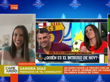 """Sandra Díaz Arcas, víctima de troleos en el directo de El Chiringuito: """"Espero que no sea ninguno de mis compañeros"""""""