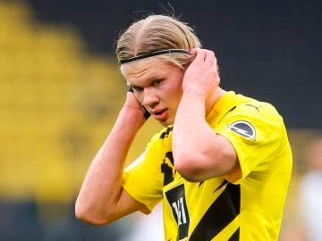 Erling Haaland, delantero del Borussia Dortmund