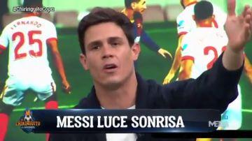 """Edu Aguirre, sobre Messi: """"Le pagáis 74 millones netos por sonreír"""""""