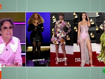 """El análisis de Josie del look """"más polémico"""" de los Grammy: """"Es horrible, pero es maravilloso"""""""