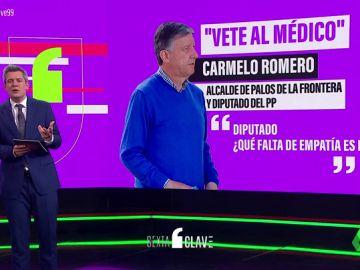 """De el """"vete al médico"""" a llamar """"señora COVID"""" al servicio de limpieza: las otras polémicas de Carmelo Romero"""