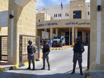 Un hospital jordano.
