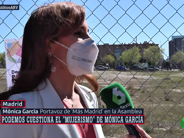 Mónica García, candidata de Más Madrid, en Al Rojo Vivo