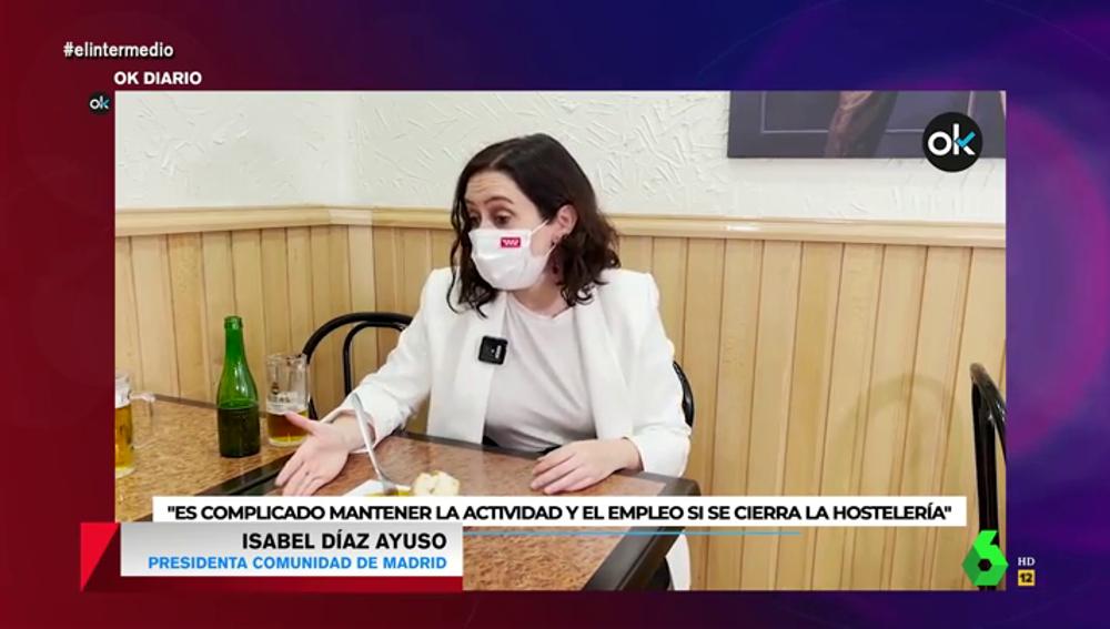 """La crítica de Dani Mateo a Ayuso tras decir que Iglesias es un """"caribeño con chandal"""" con """"un séquito de mujeres alrededor"""""""