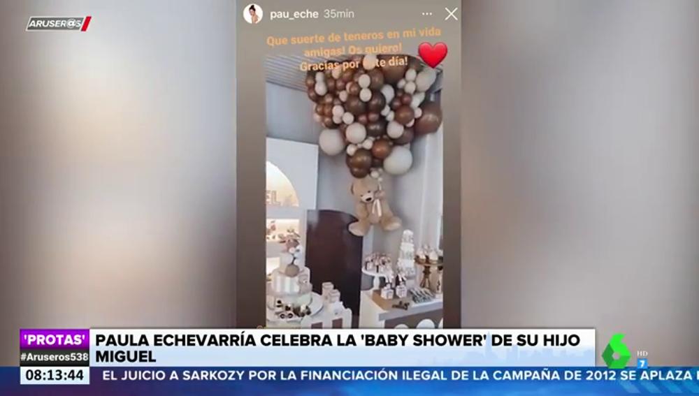 Así fue el 'baby shower' sorpresa por el hijo de Paula Echevarría y Miguel Torres